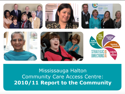 Multimedia report featured firsthand stories of CCAC staff and their clients.